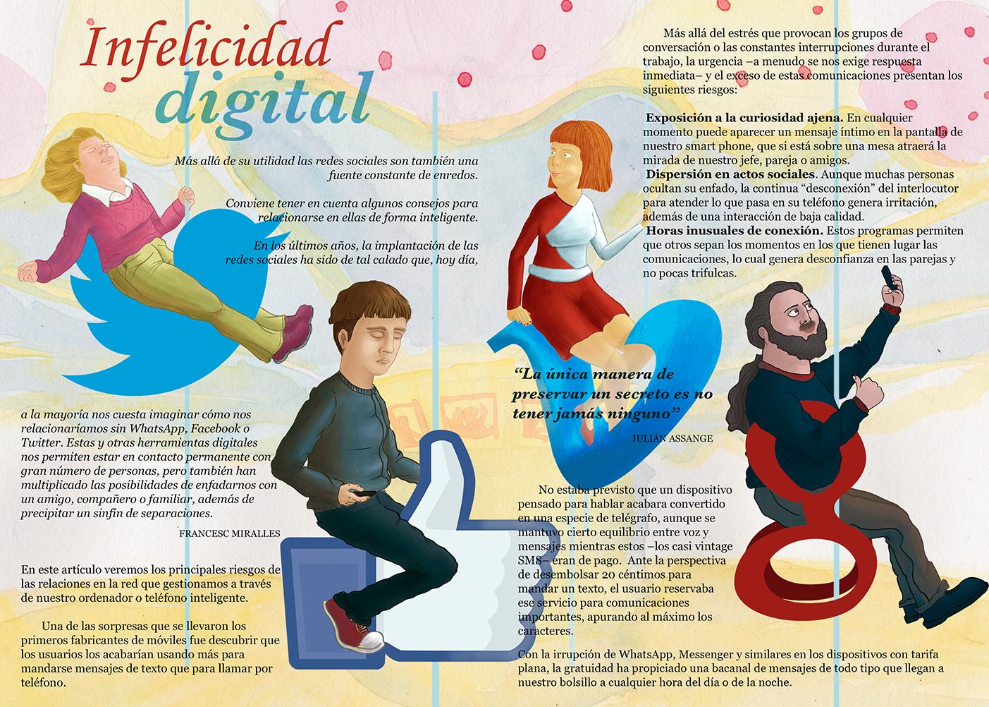 infelicidad digital