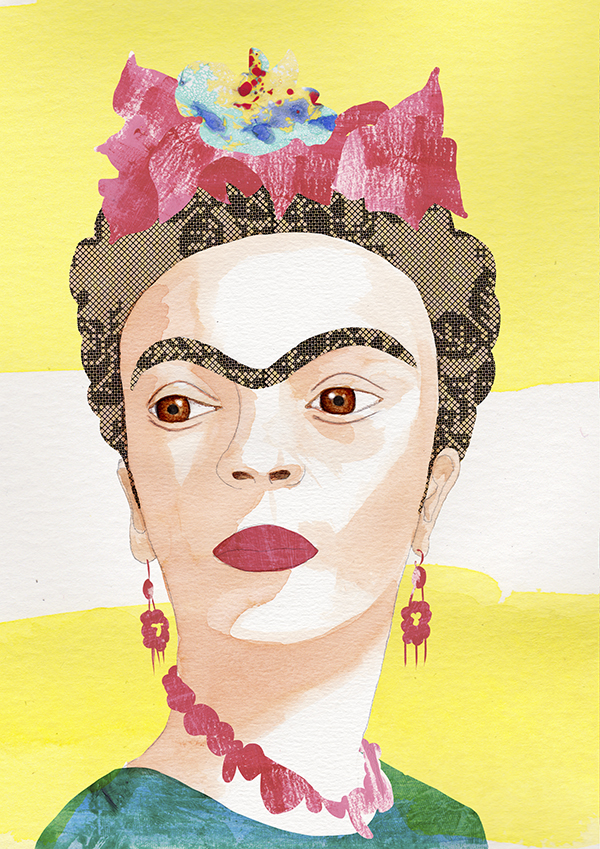 Retrato_FridaKahlo